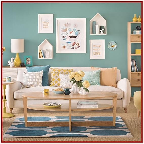 Teal Green Living Room Accessories