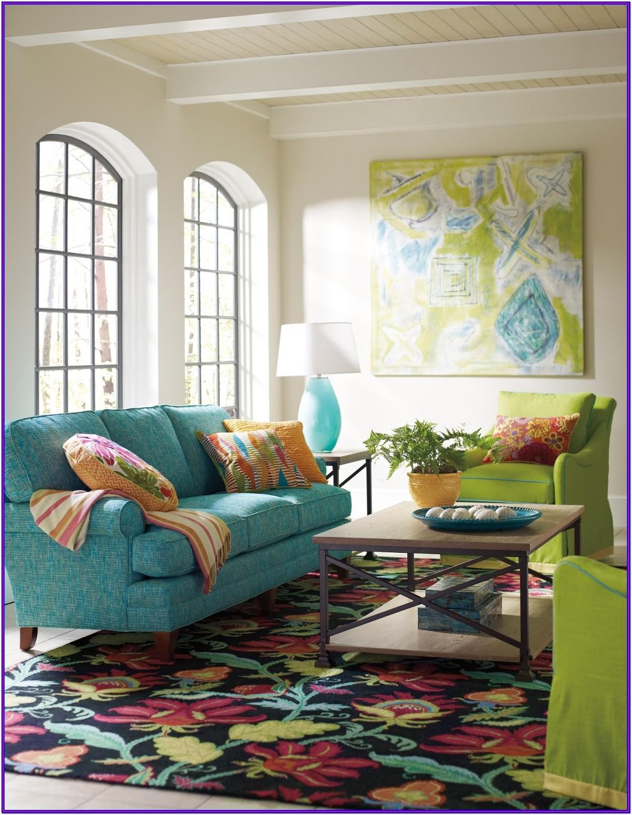 Teal Sofa Living Room Decor