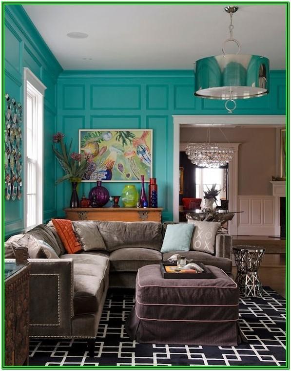 Tiffany Blue Living Room Furniture
