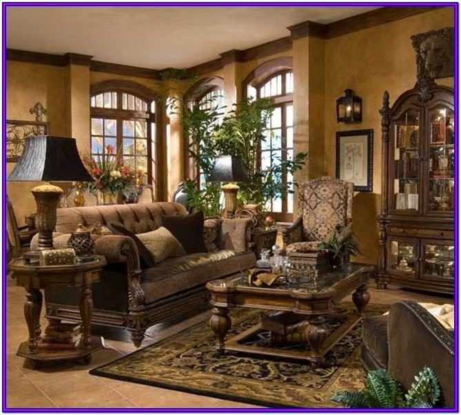 Tuscan Inspired Living Room Ideas
