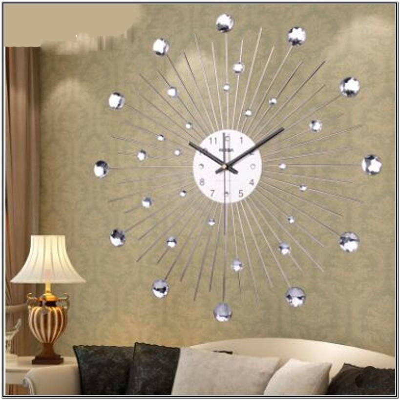 Unique Wall Clocks For Living Room