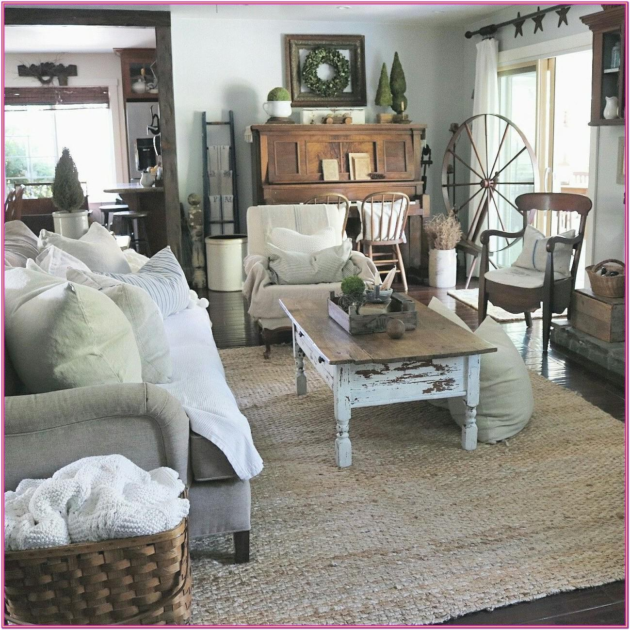 Vintage Farmhouse Farmhouse Style Living Room Furniture