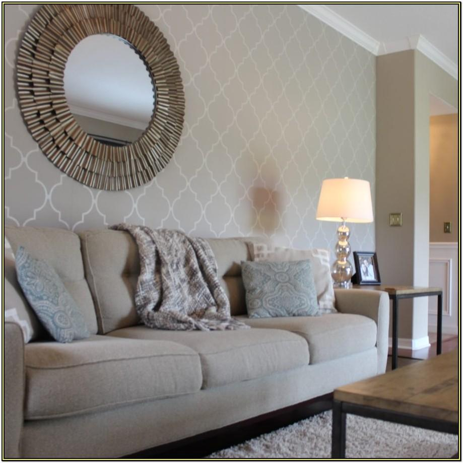 Wallpaper For Living Room Accent Wall