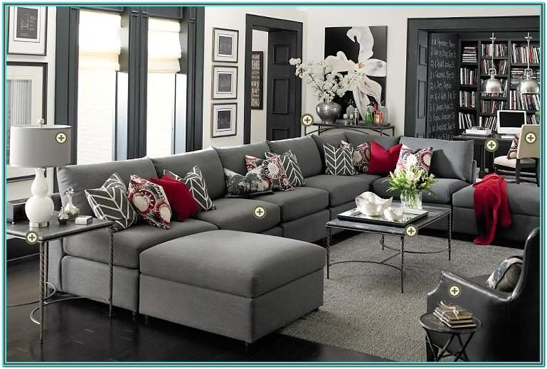 White And Grey Living Room Furniture Sets