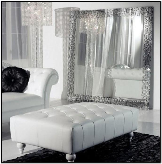 White Leather Couch Living Room Ideas