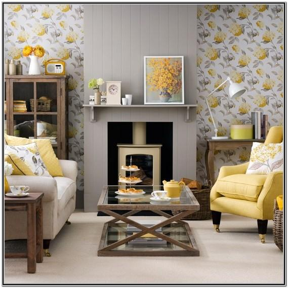 Yellow And Gray Living Room Decorating Ideas