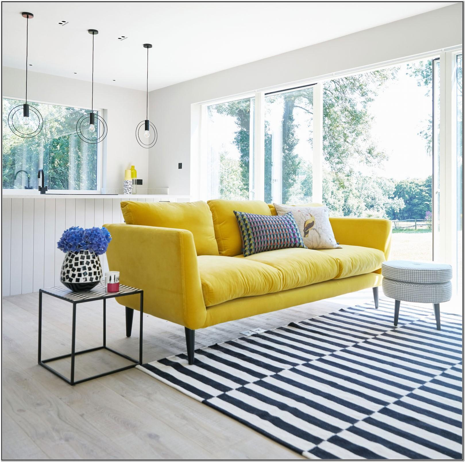 Yellow Sofa Living Room