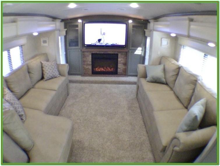 5th Wheel Camper Front Living Room Floor Plans