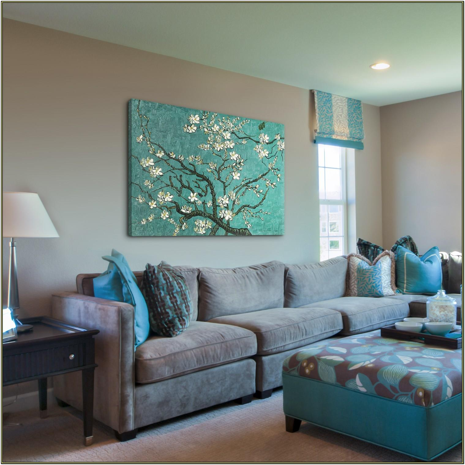 Big Canvas Paintings For Living Room