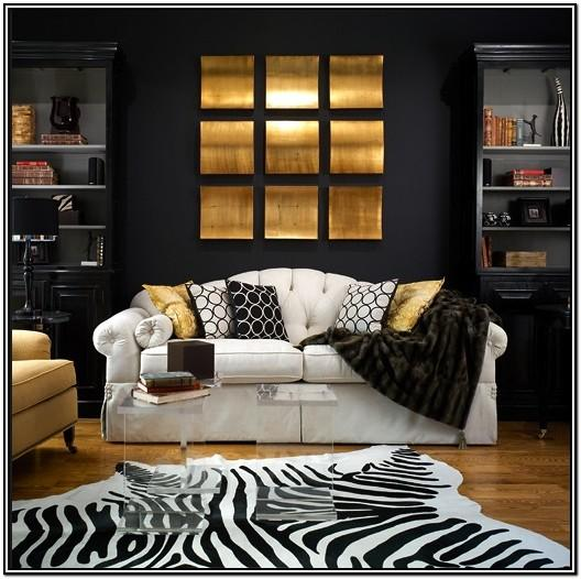Black And Gold Living Room Furniture