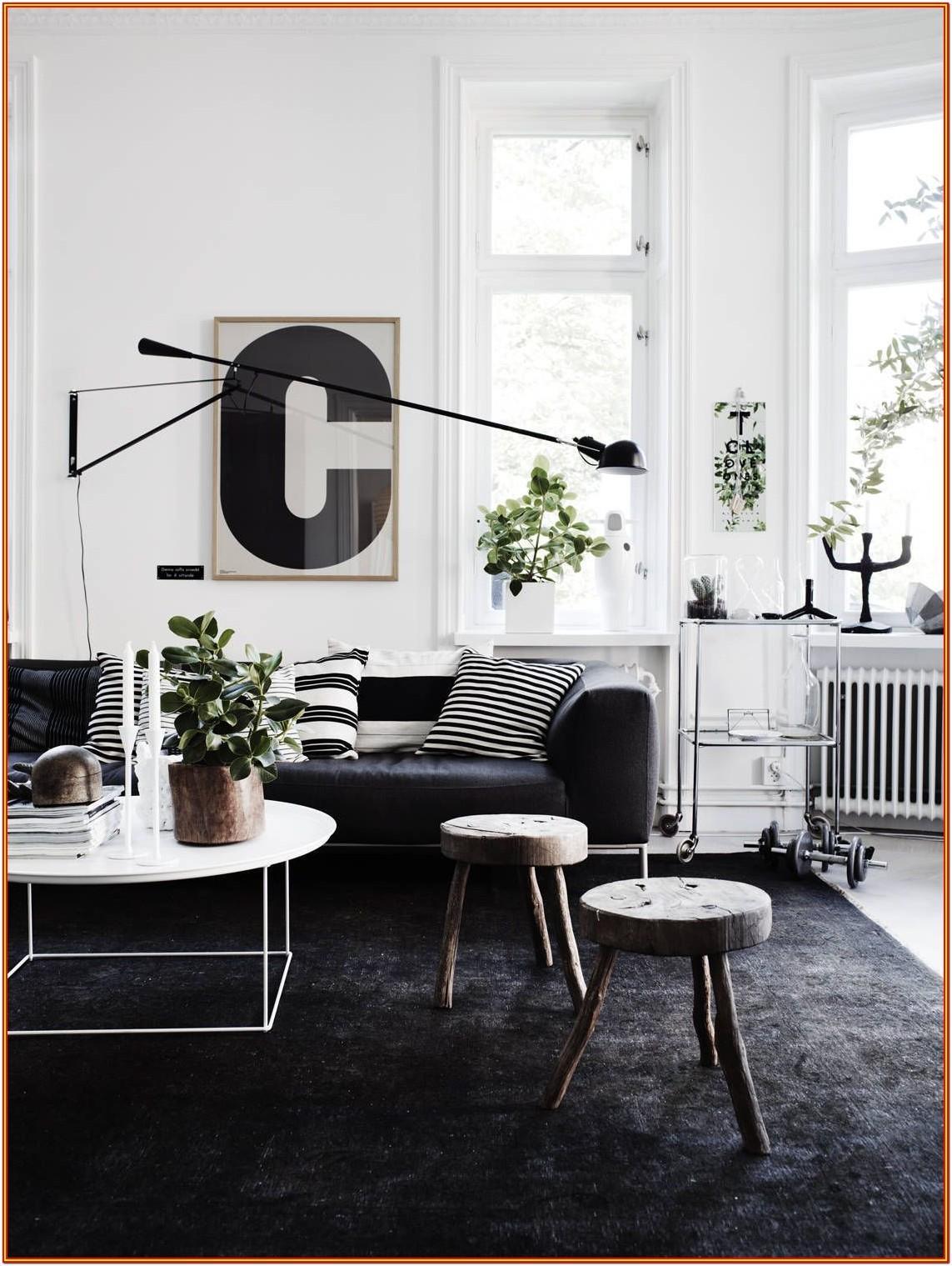 Black And White Carpets For Living Room