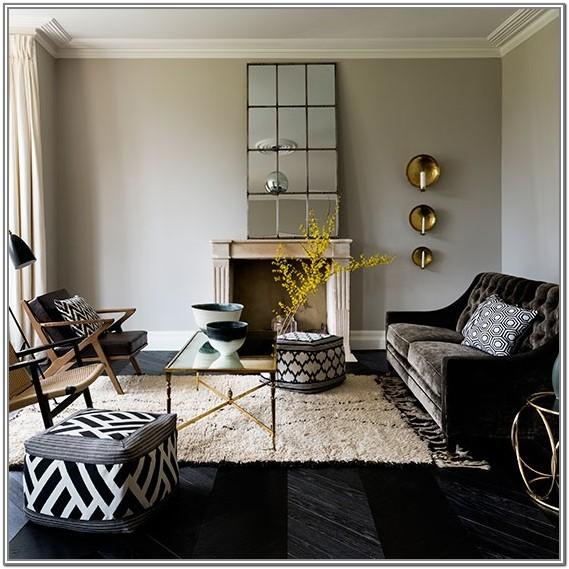 Black And White Living Room Chair