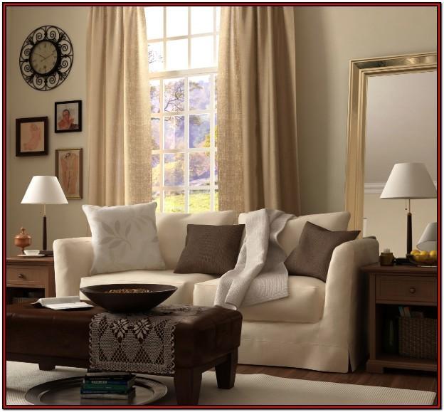 Black Brown And Tan Living Room