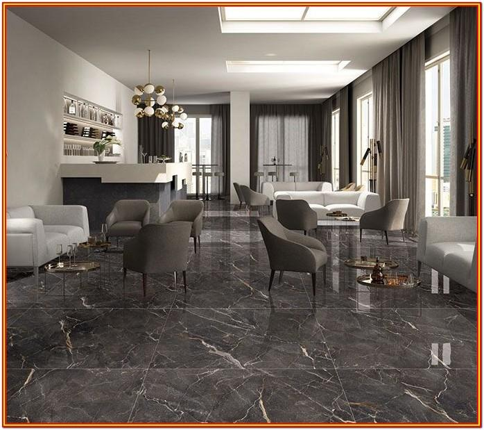 Black Granite Black Floor Tiles Living Room