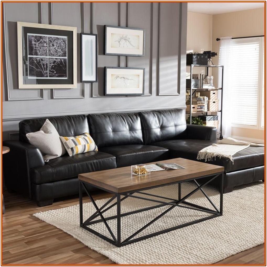 Black Leather Living Room Set Ideas