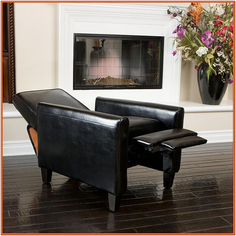 Black Leather Reclining Living Room Sets