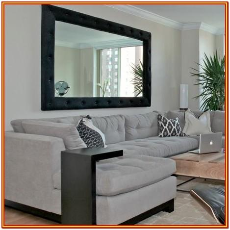 Black Living Room Mirror