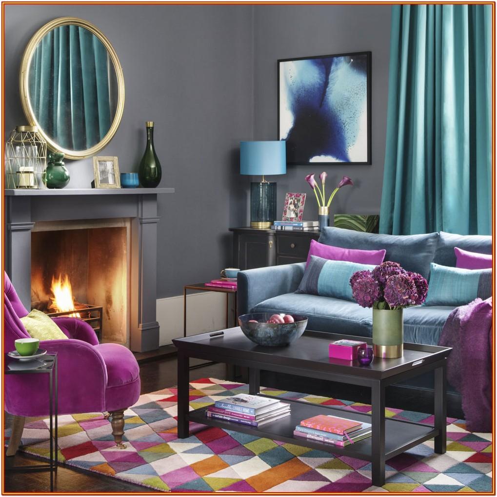 Black Sofa Living Room Colour Scheme