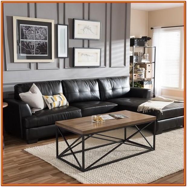 Black Sofa Living Room Decor