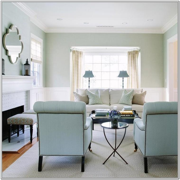 Blue And White Living Room Chairs