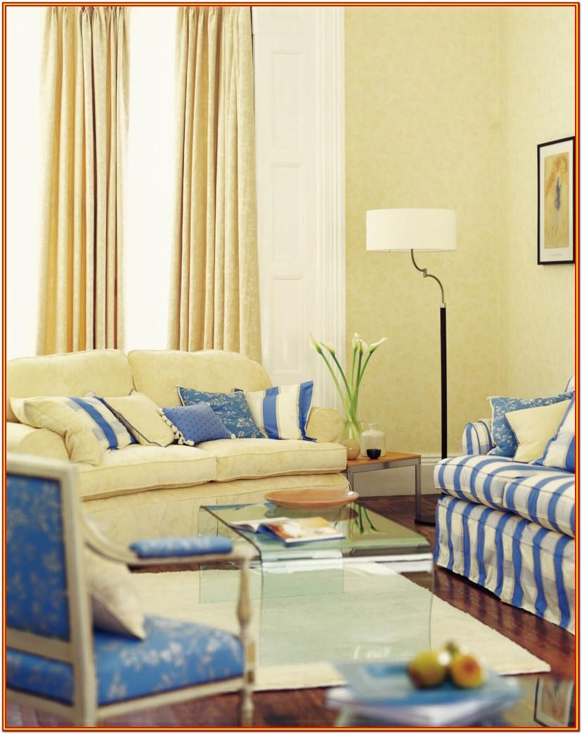 Blue And Yellow Living Room Furniture