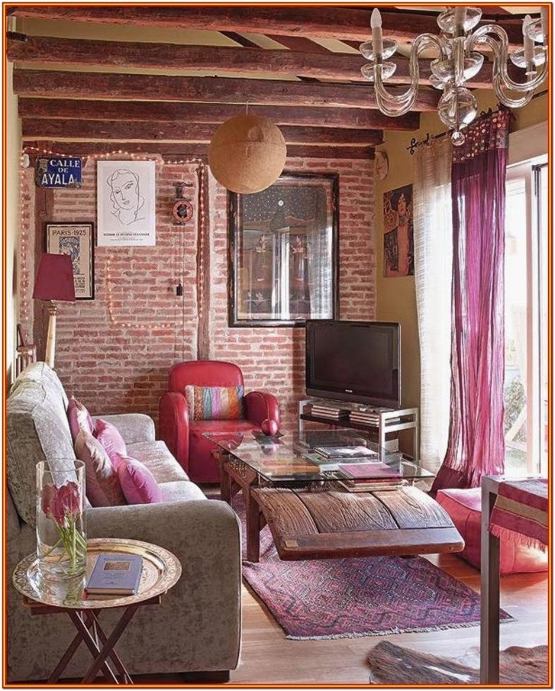 Bohemian Chic Living Room Design