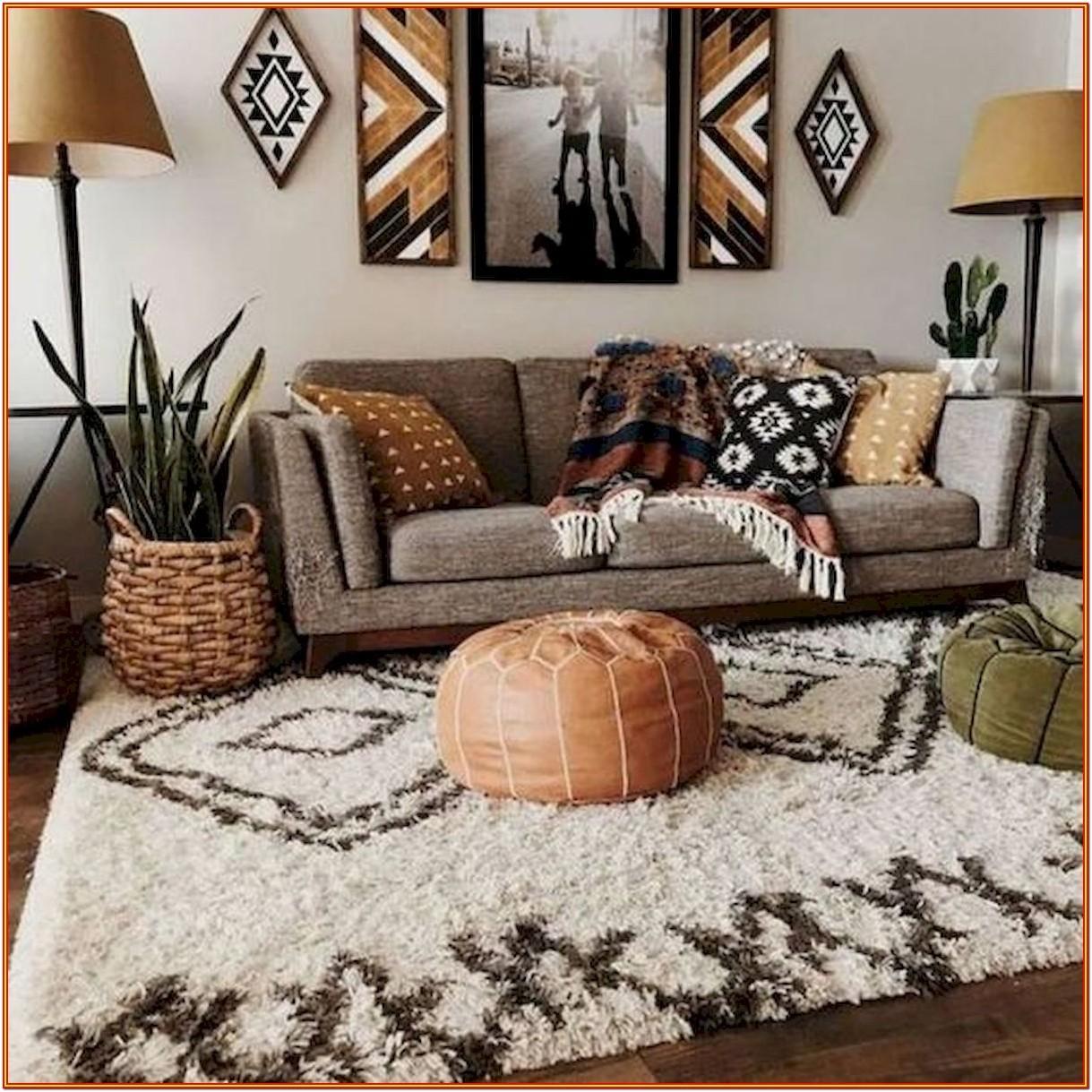 Bohemian Living Room Design Ideas