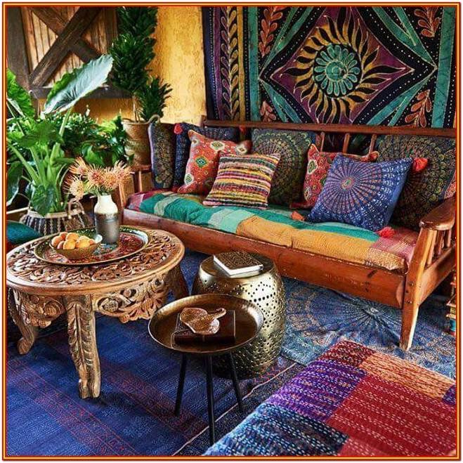 Bohemian Style Bohemian Design Living Room