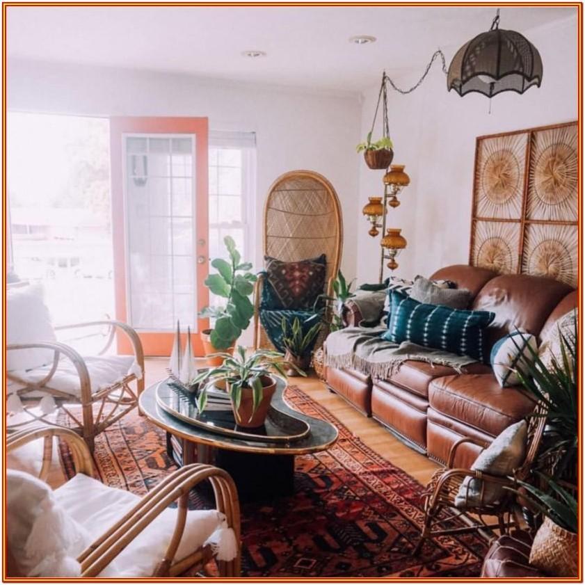 Bohemian Style Living Room Furniture
