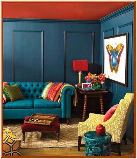 Boho Living Room Paint Colors