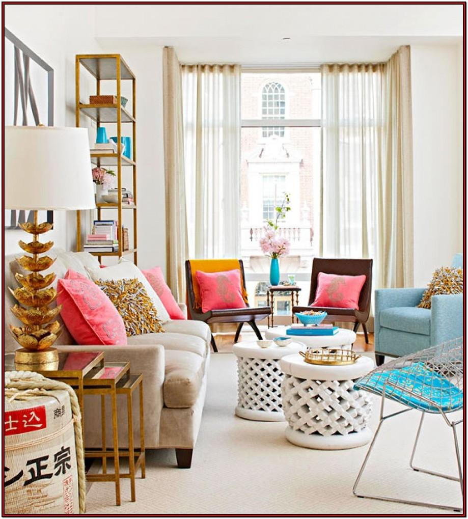 Bright Colored Living Room Furniture