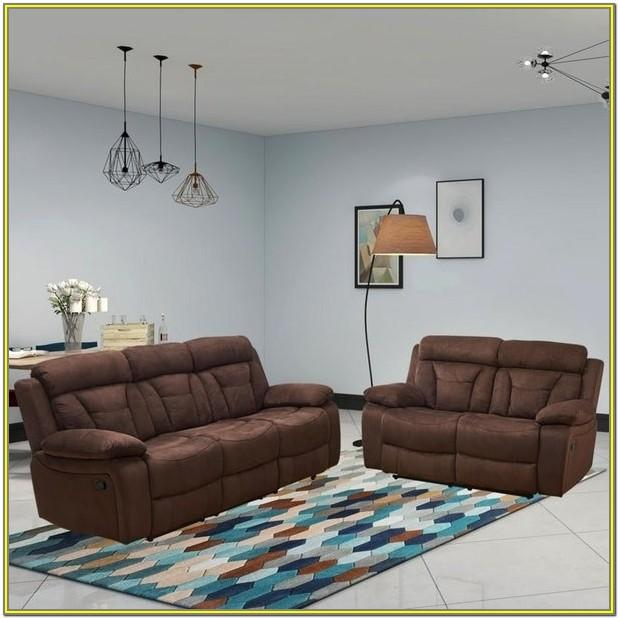 Brown 2 Piece Living Room Set
