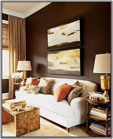 Brown Gold Paint Colors For Living Room