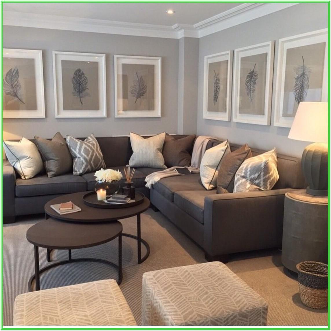 Brown Leather Corner Sofa Living Room Ideas