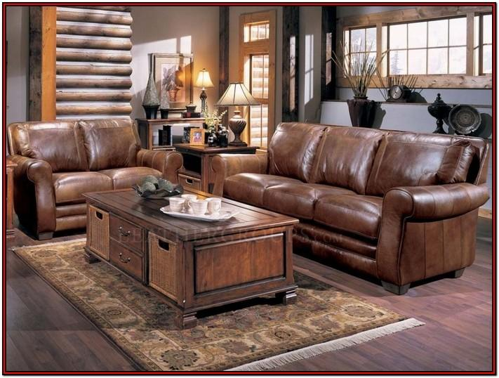 Brown Living Room Table Sets