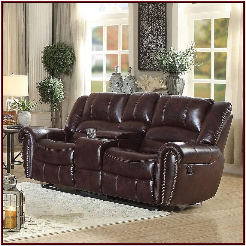 Brown Reclining Living Room Sets