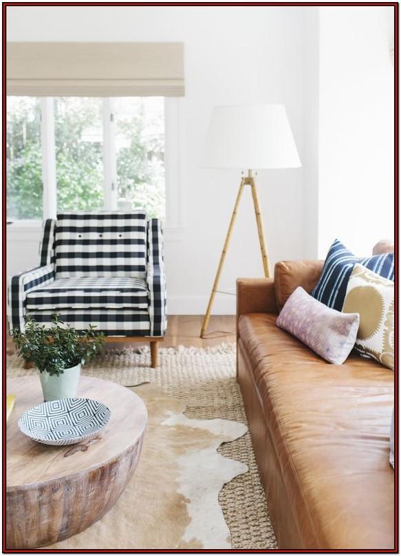 Buffalo Plaid Living Room Chair