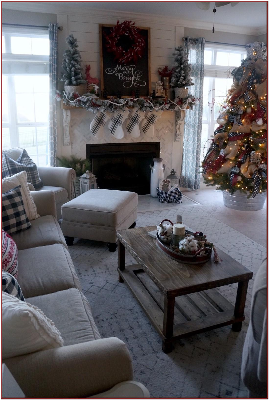 Buffalo Plaid Living Room Curtains