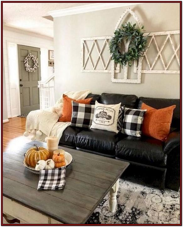 Buffalo Plaid Living Room Decor