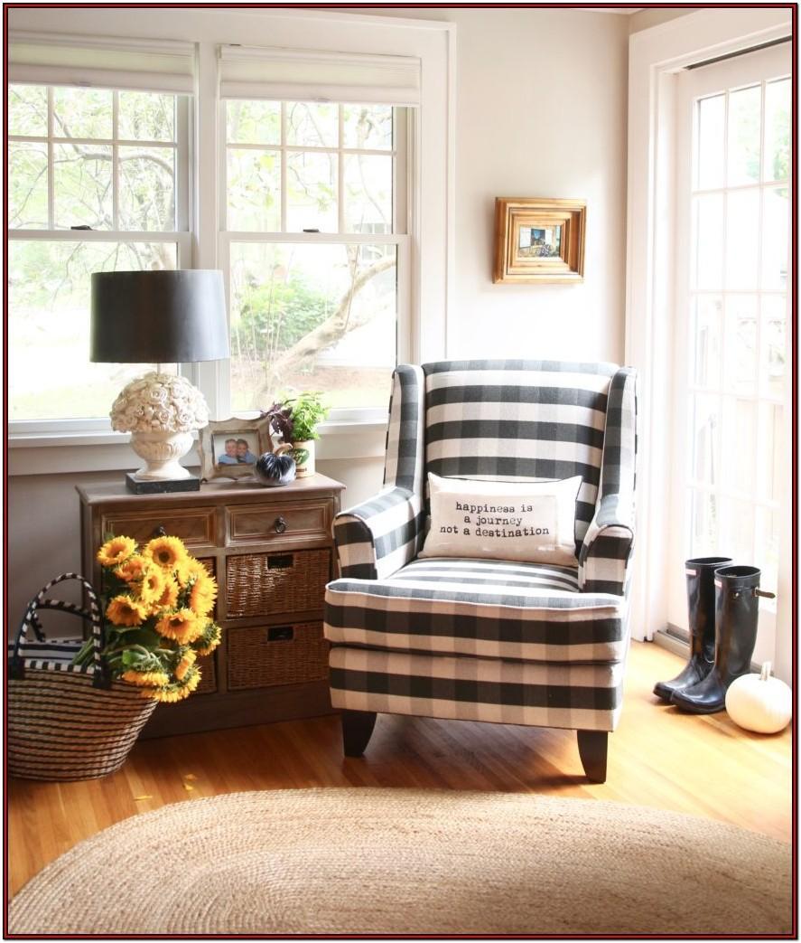 Buffalo Plaid Living Room Furniture
