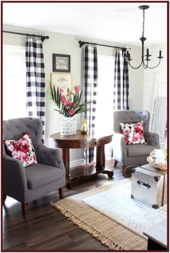 Buffalo Plaid Rug Living Room