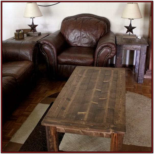 Build A Living Room Table