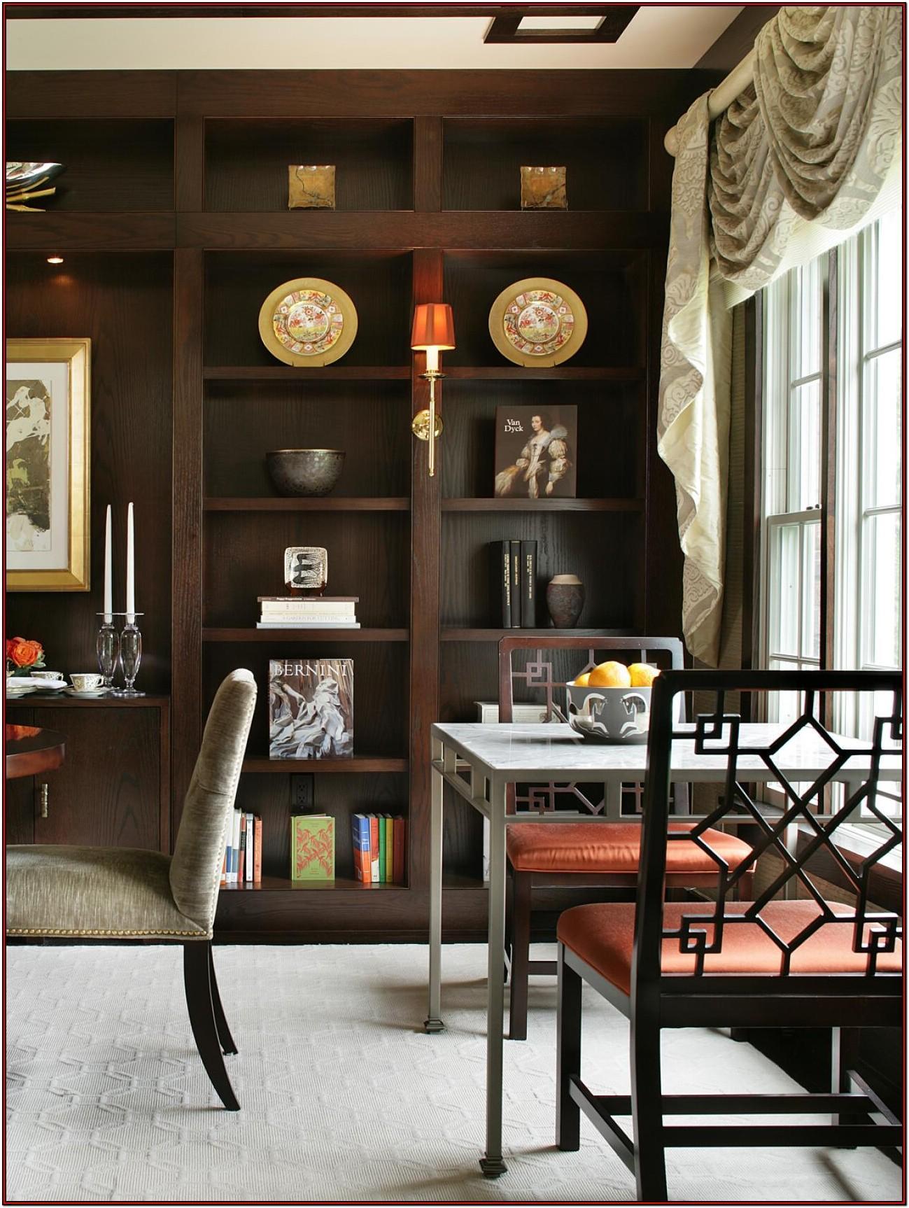 Built In Wall Shelves Living Room