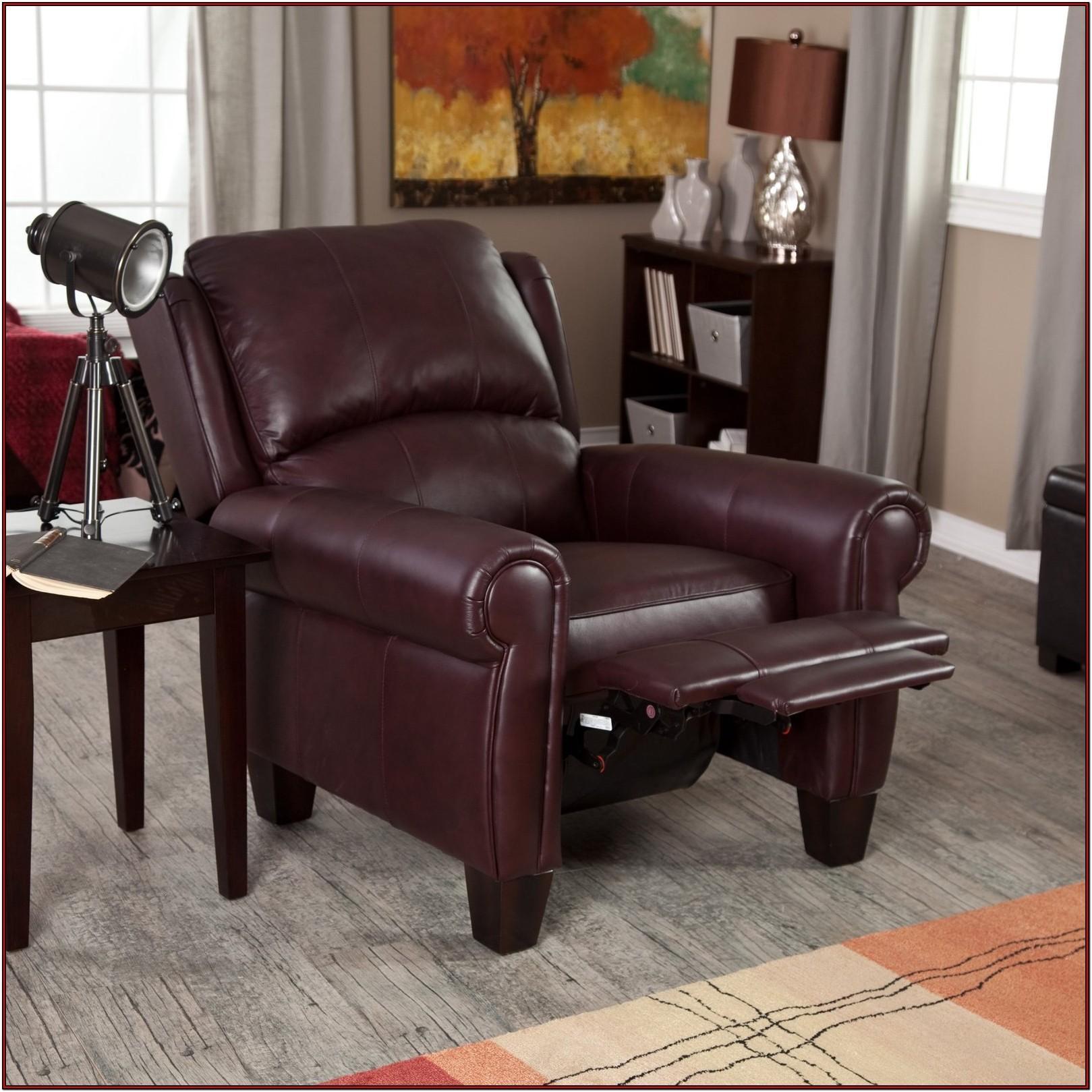 Burgundy Living Room Chair