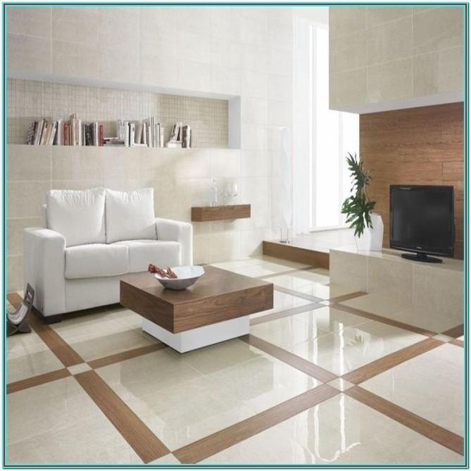 Ceramic Living Room Floor Tiles Design