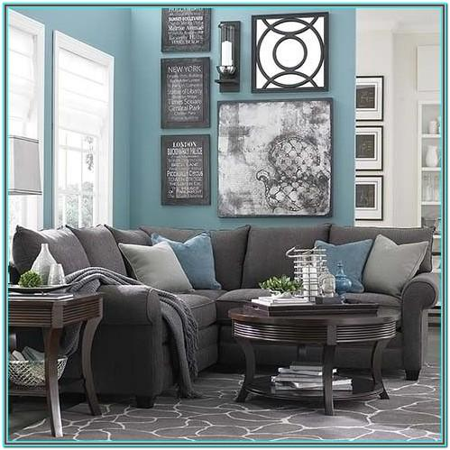 Charcoal Gray Sectional Living Room Ideas
