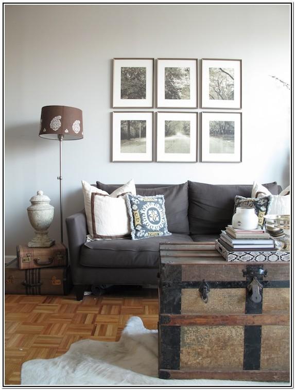 Charcoal Grey Dark Grey Sofa Living Room Decor
