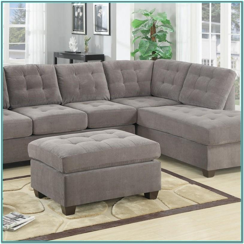 Charcoal Grey Sectional Living Room Decor