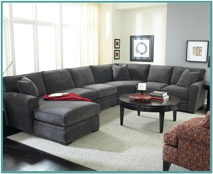 Charcoal Sectional Living Room