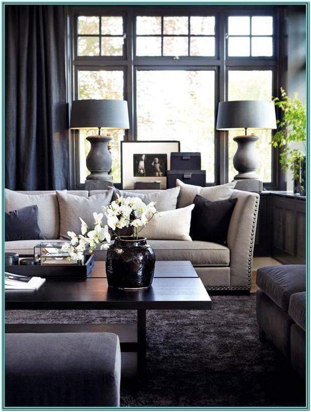 Charcoal Sofa Living Room Ideas